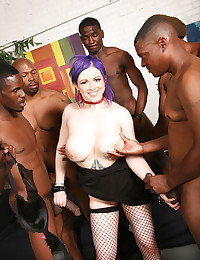 She Loves Black Cock Feast