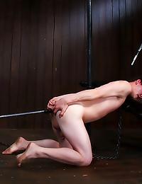 Cute boy anal dildo sex
