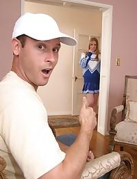 Free cheerleader sex porn pics
