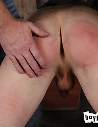 Kenzie Madison has been found to require correctional discipline which Sebastian, as head of Boynapped, is bound to deliver. Never shy of his duties, Sebastian has Kenzie over his knee for a prolonged spanking. Not convinced Kenzie has learnt his lesson,