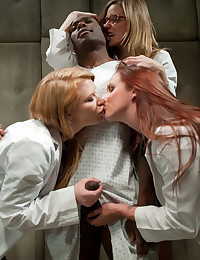 Three Hot Doctors One Cock