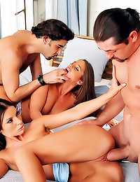 Big cocks in group sex