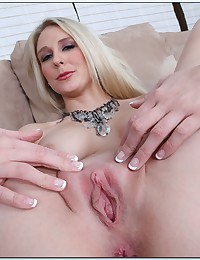 Horny Madison Spreads Her Wet Pussy