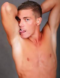 Hard body gay boy solo