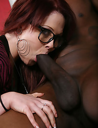 Black cock for tattooed girl -