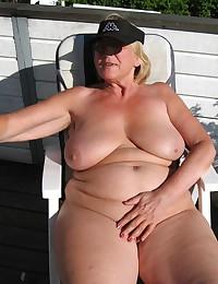 fat big tits grannies