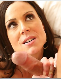 Gorgeous Brunette Milf Impaled On Dick