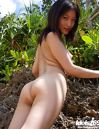 Lovely Asian With Erect Nippl...