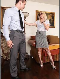Gorgeous Angela Seduces Horny Stranger