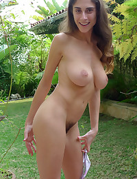 Abbey is a gorgeous hairy pussy model with a body unlike most women.
