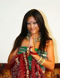 Indian with lovely natural br...