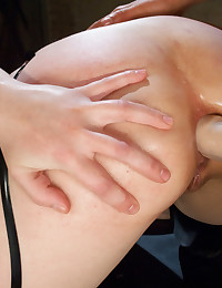 Anal Fisting, big strap-on ass domination and double penetration kinky sex!