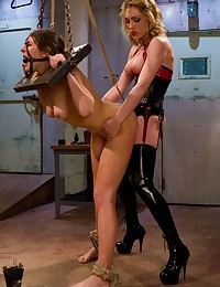 Mistress strapon bangs female