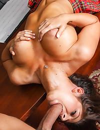 Cock Hungry Teen Fucks Massive Dong