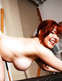 Redheaded milf demands satisf...
