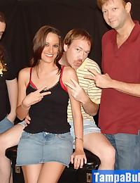 Slut Wife Danica Mini Bukkake Party