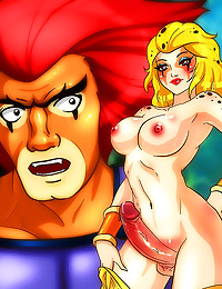 Thundercats hentai with shema...