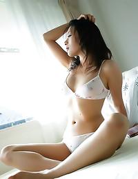 Thong on Japanese gal