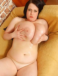 Plumper with big sexy tits