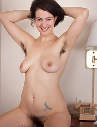 Cute natural milf hairy pits