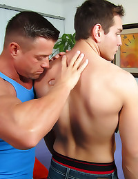 Oil massage and hot fucking