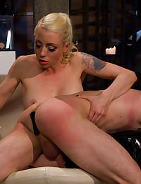 Butt plug and a spanking
