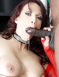 Milf has black cock anal