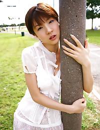 Mayumi In Nice Swimwear Outfit