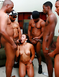 Black whore for black cocks