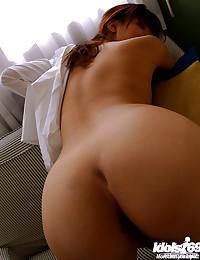 Nice Asian Round Firm Butt