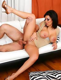 Large tits curvy milf fucked