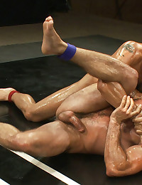 Winner fucks the loser when two hot Latin muscle studs battle for total domination on the mat and total destruction of the loser's hole. Caliente!