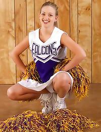 Cute cheer girl hairy pussy