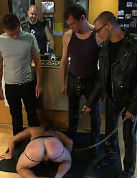 Gay Sex Slave Enjoys Torture