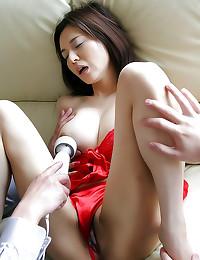 Japanese girl gangbanged hard