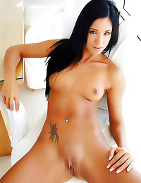 Cute perfect young shaved gir...