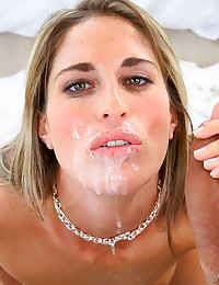 Innocent Young Blonde Plays Naughty