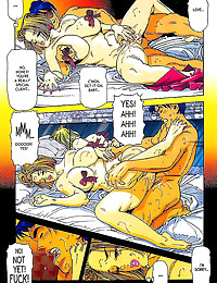 Full color comic is sensually...