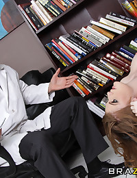 Faye Reagan may be the perfect woman. But aren't all redheads batshit crazy? Brazzers pioneered a medical study on the correlation between gingers and being completely nuts for cock. Turns out, the empirical evidence, captured on video for your viewing pl