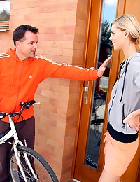 Bike rider fucking