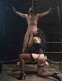 Cock pain for submissive
