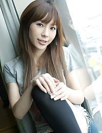 Japanese cutie wears sexy lingerie