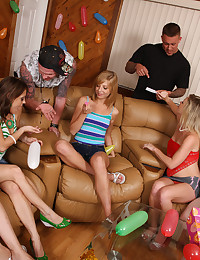Birthday party with unforgettable adult party games