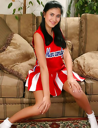 Sweet horny solo cheerleader ...