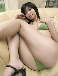 Japanese bikini model