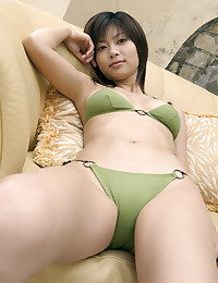 Japanese bikini model