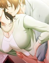 Ultimate big breast housewife on her knees choking down dick