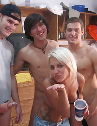 Fucked for fraternity hazing