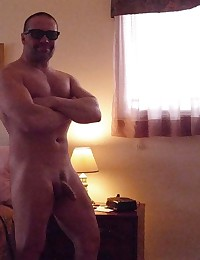 Photos of two amateur dudes showing their dicks
