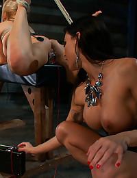 Bondage Lover Gets Handled Roughly
